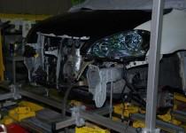 トヨタ イプサム(TOYOTA) イタリア スパネーゼ スパネージ(SPANESI) フレームジグ修正機使用 鈑金塗装 自動車修理事例