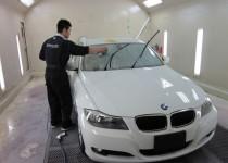 BMW 3SeriesSedan.320i ガラスコーティング リアルガラスコート ハイパービュー(SOFT99)