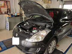 北九州市八幡西区S様☆スズキ スイフト(SUZUKI SWIFT)  新車1か月点検・整備の巻・∀・)ノ゛