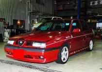 アルファロメオ(ALFA ROMEO)全塗装 自動車修理事例
