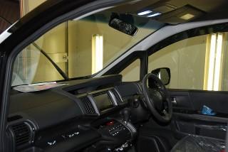 ホンダ ステップワゴン スパーダ(HONDA STEPWGN SPADA)  ガラスコーティング リアルガラスコート ハイパービュー(SOFT99)