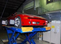 三菱 GTO(MITSUBISHI GTO) ブレーキローター研磨及び4輪アライメント調整