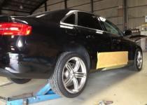 Audi A4(アウディ)、キズ・へこみ修理