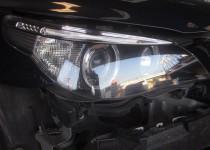 BMWヘッドライト磨き