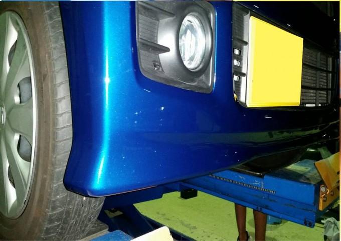エアロバンパー・リップスポイラー修理のタイミング