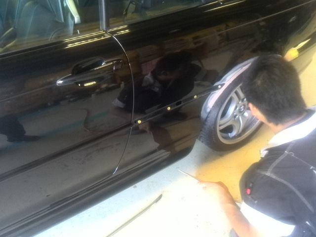 BMWクオーター修理