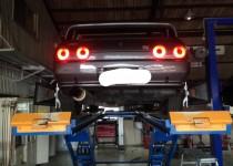 NISSAN GT-R 四輪アライメント
