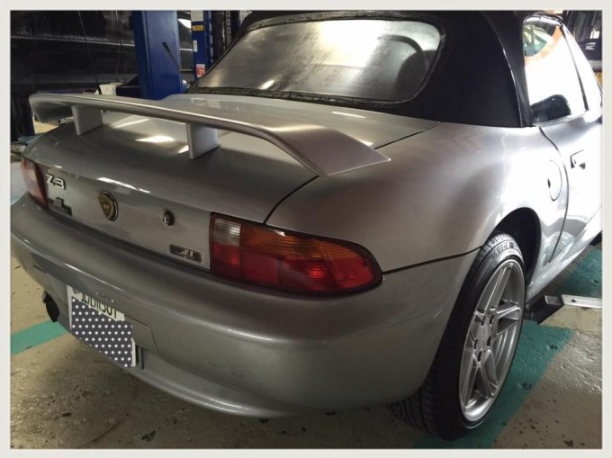 BMW Z3 ヒーターコアのコレクター交換