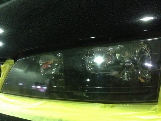 ホンダアコード(HONDA Accord)ヘッドライトクリーニング