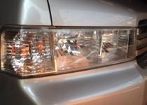 HONDA Spike(ホンダモビリオスパイク)ヘッドライトのクリーニング