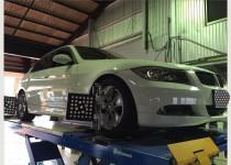 BMW3シリーズ アライメント調整