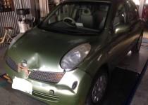 NISSAN MARCH (ニッサンマーチ)事故車修理