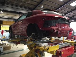 Alfa Romeo(アルファロメオ)フレーム修理