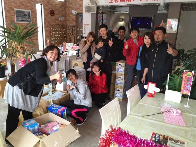 熊本地震 沢山の救援物資が届いてます!
