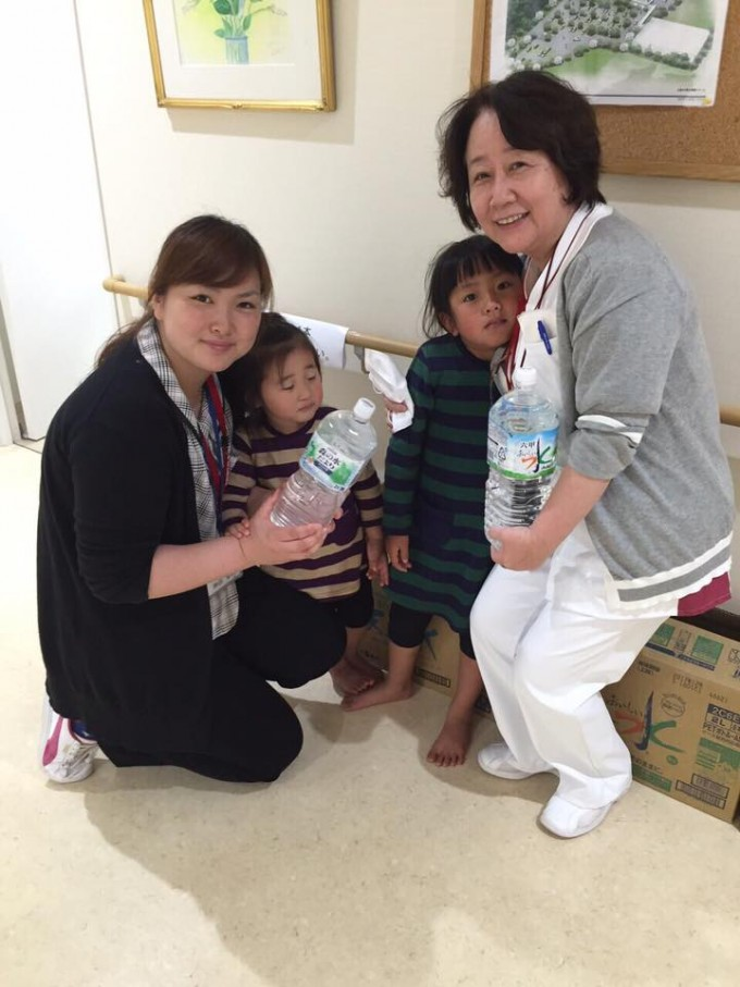 熊本地震 支援物資第2便、お届け完了!