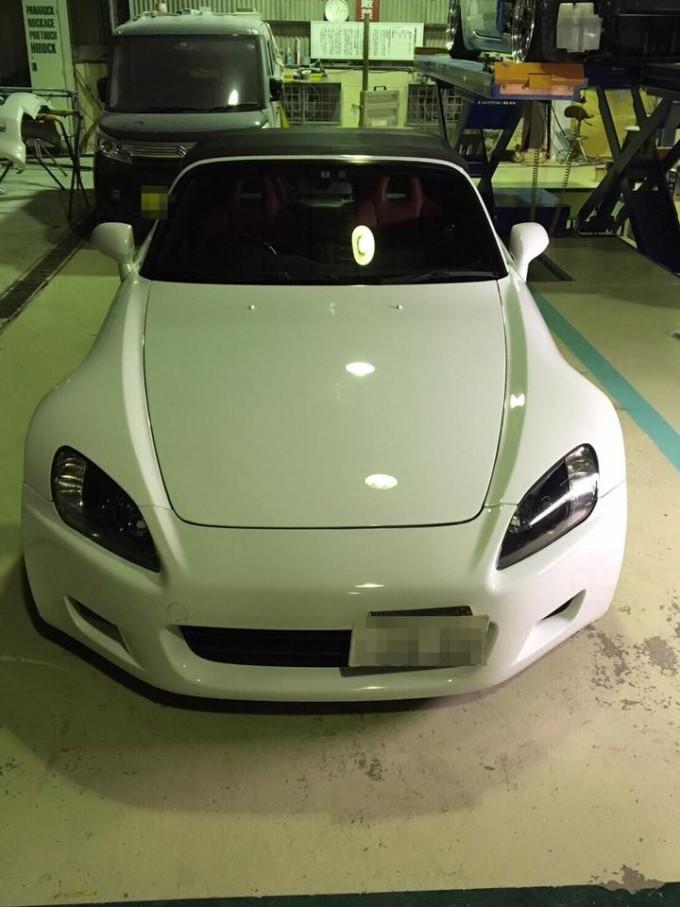 HONDA(ホンダ)S2000オールペイント!!