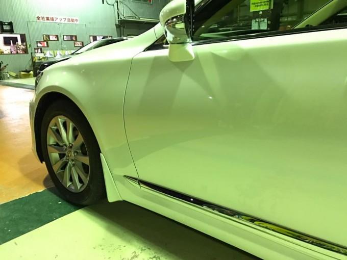 LEXUS(レクサス)LS460キズ・へこみ、鈑金塗装