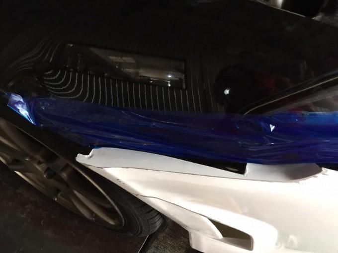 NISSAN SILVIA(ニッサンシルビア)フロントバンパースポイラー塗装取り付け!
