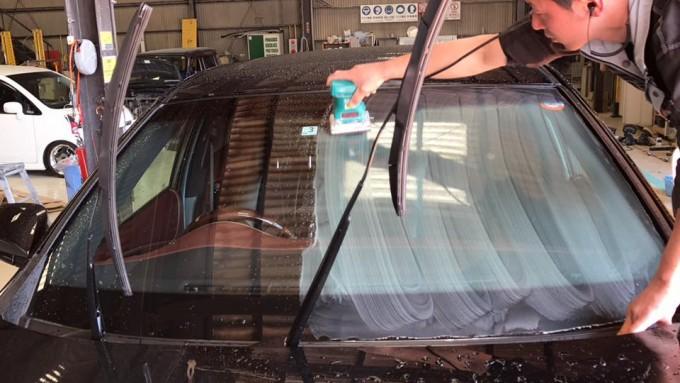TOYOTA HARRIER(トヨタハリアー)ガラスコーティング