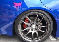SUBARU IMPREZA WRX STI(スバル インプレッサー) キャリパー塗装