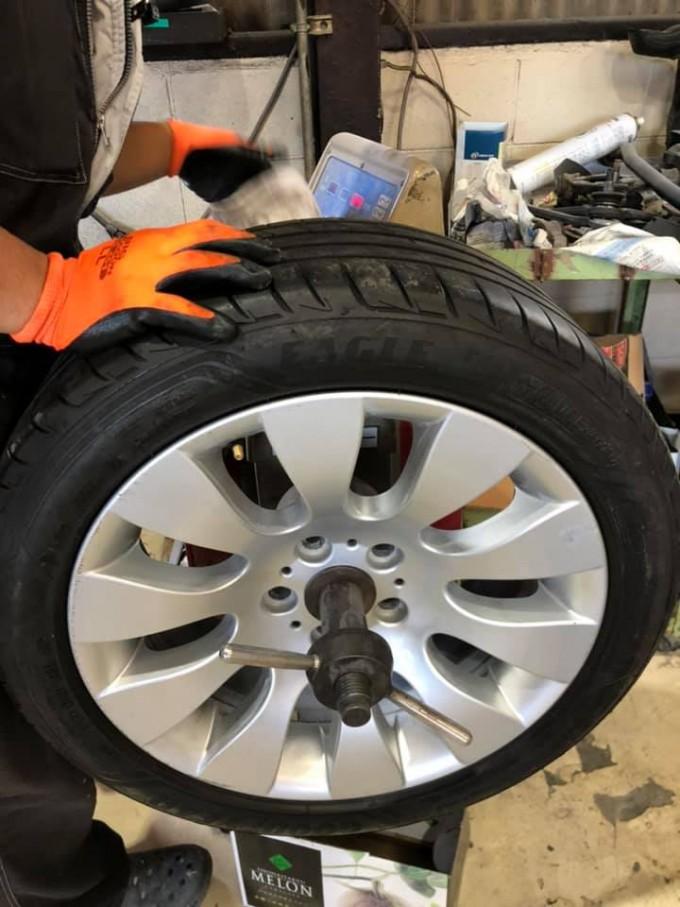 BMW ランフラットタイヤ交換
